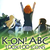K-ON ABC icon pack by StrigineSensibility
