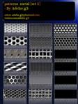 patterns metal set 1