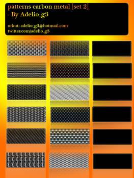patterns metal carbon set 2