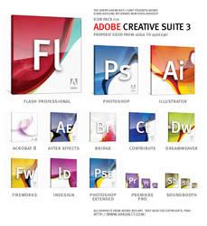 Adobe Creative Suite 3 CS3 Set by 037