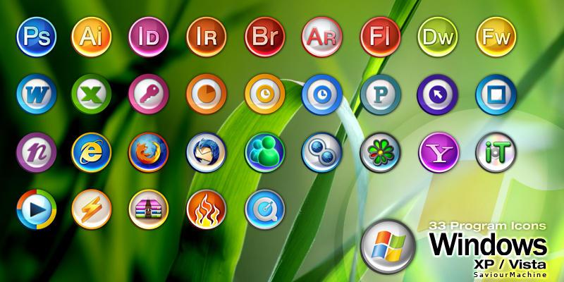 Program Icons by SaviourMachine