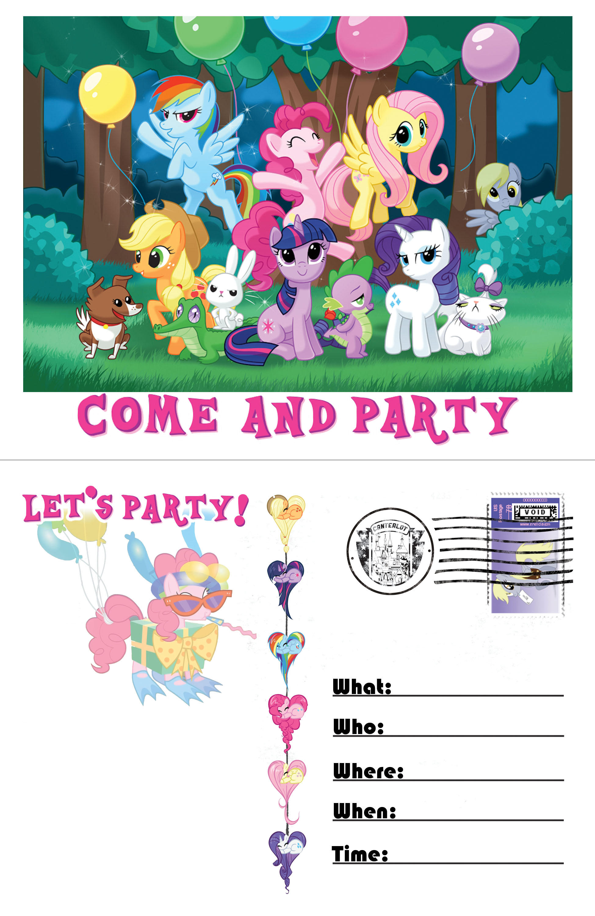 Pony invitation template by moviefreaq on deviantart pony invitation template by moviefreaq pony invitation template by moviefreaq filmwisefo