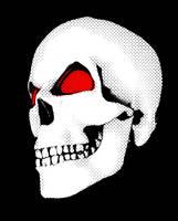 Skull Laugh Animation