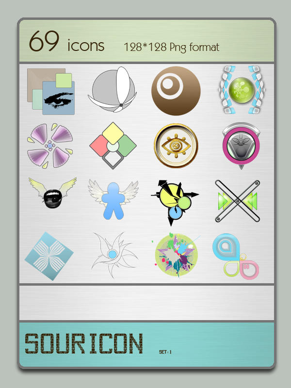 Souricon set 1 by sourcake