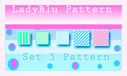 set 5 pattern by ledyblu by ledyblu
