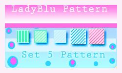 set 5 pattern by ledyblu by ledyblu