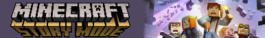 Minecraft Story Mode Fan Button (Commission) by ShadaTHedgehog
