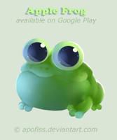 apple frog animation