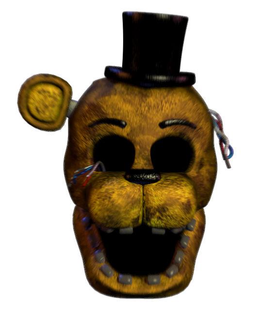 FNAF 2 Golden Freddy death flipnote animation by ...