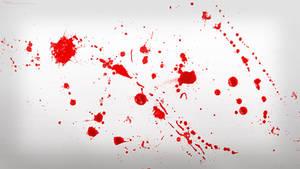 Dexter Blood Spatter Wallpaper