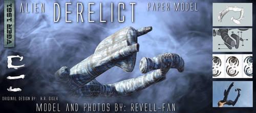 Alien, Derelict papercraft
