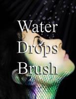 WaterDrops Brush by theworldisbeautiful