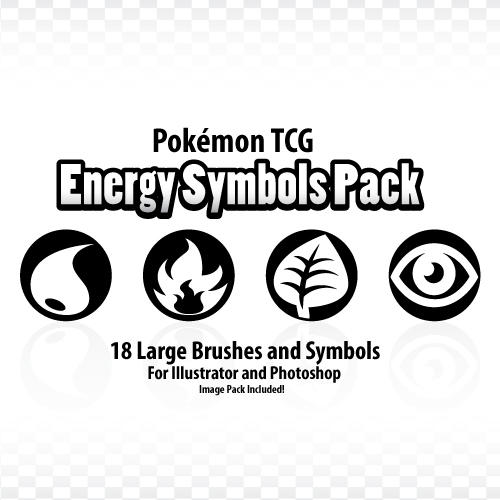 Pokemon TCG Energy Symbol Pack by AadmM