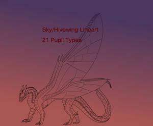 Sky/Hivewing Lineart