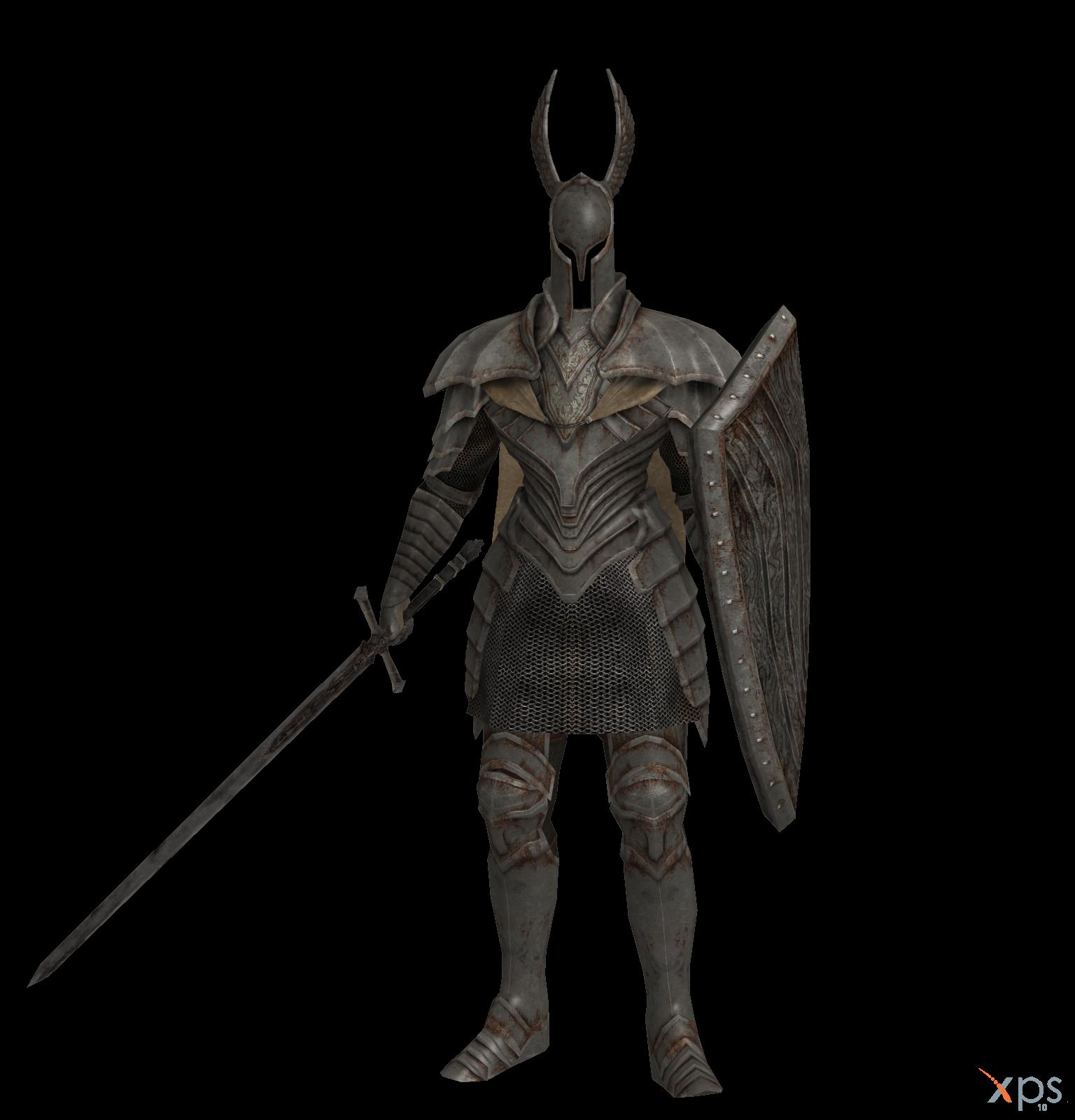 Dark Souls - Silver Knight by Bringess on DeviantArt