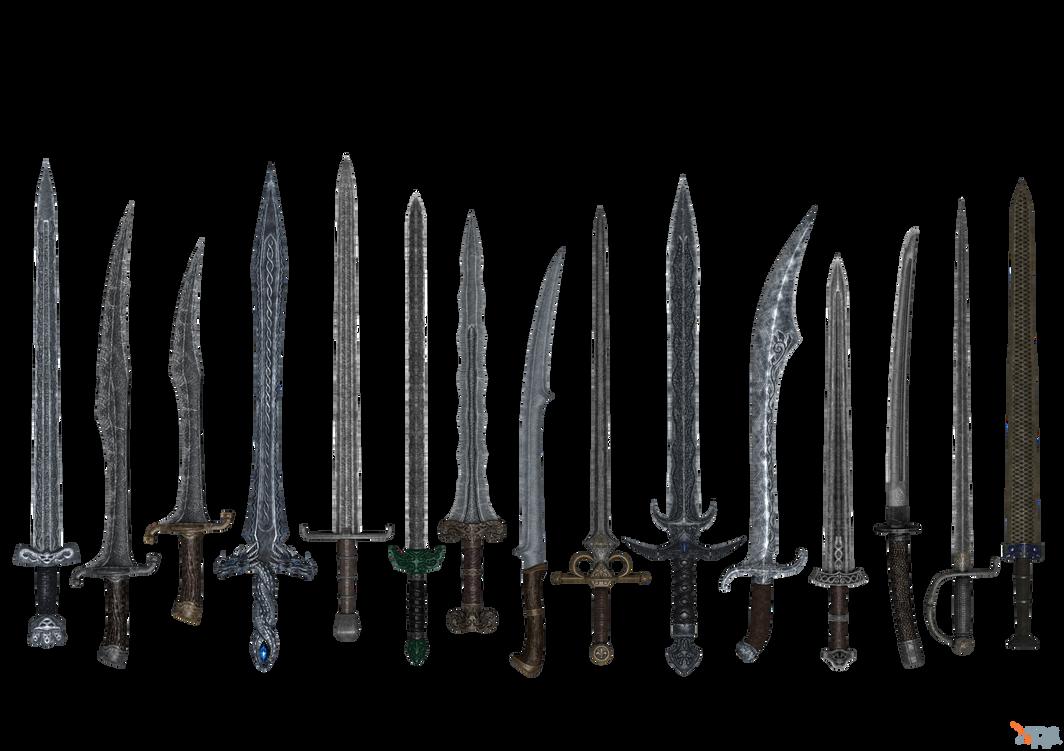 Skyrim - JaySuS swords part 02 by Bringess