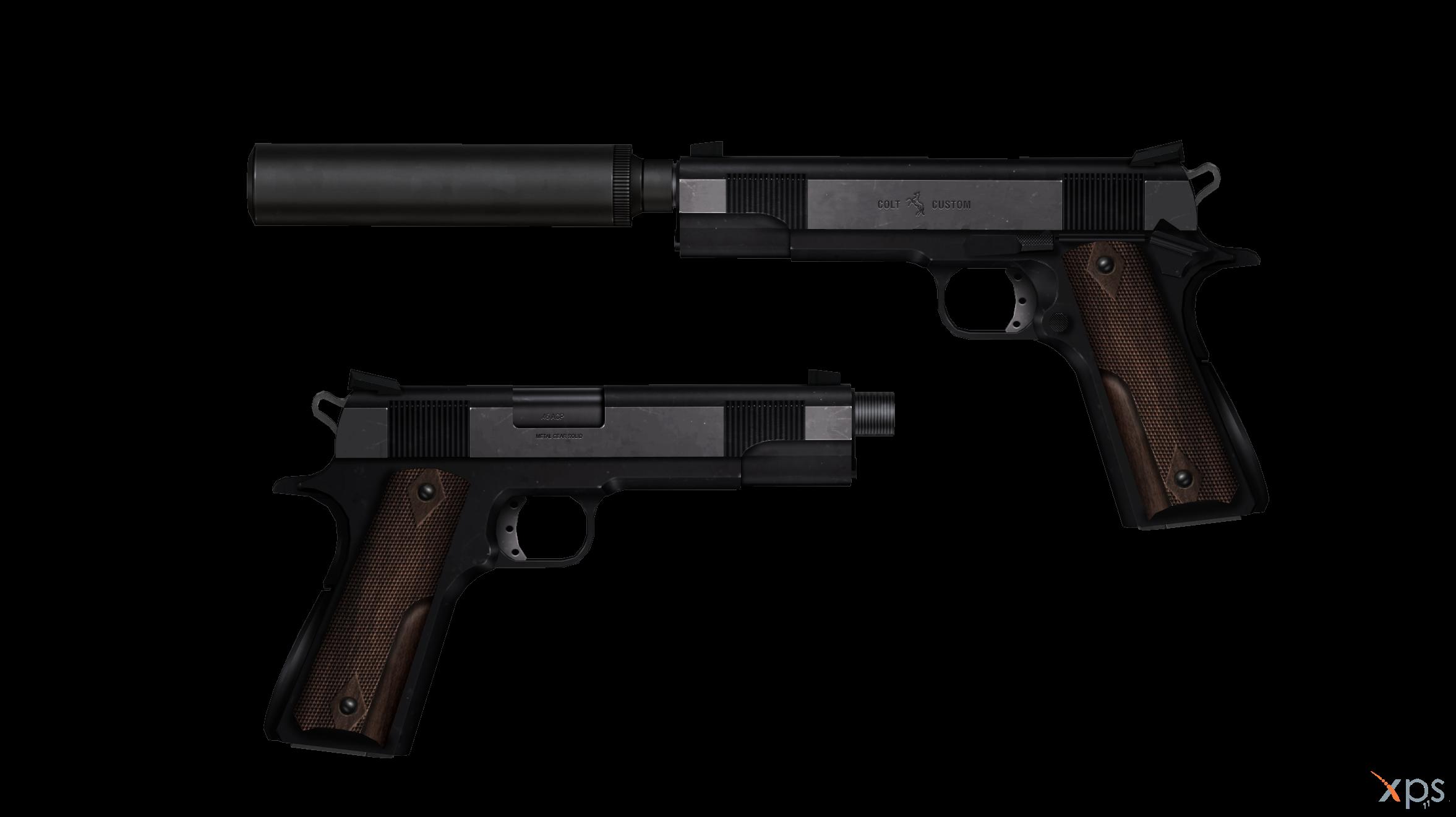 Metal Gear Solid 3 - Colt 1911 Custom by Bringess on ... M1911 Custom Mgs4
