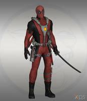 Marvel Ultimate Alliance 2 - Deadpool by Bringess