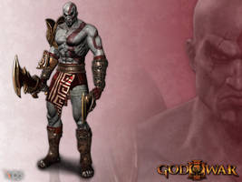 God of War 3 - Kratos by Bringess