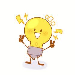 Lil Lightbulb GIF