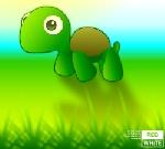 turtle walkcycle by kok-gini