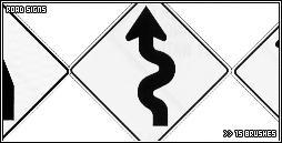 road signs by jujubinha