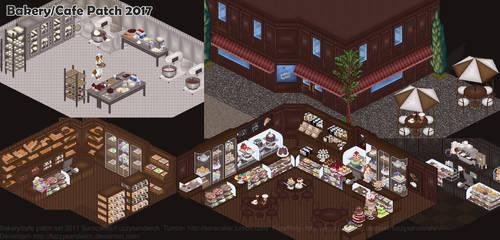 Bakery/Cafe Patch Set by Fuzzysandwich
