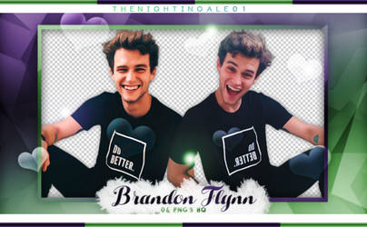 Brandon Flynn - Pack Png #O1 by TheNightingale01