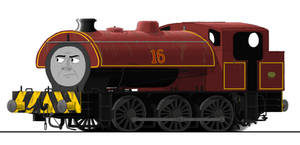 Sixteen the Steelworks Engine