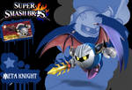Super Smash Bros Meta Knight Poster