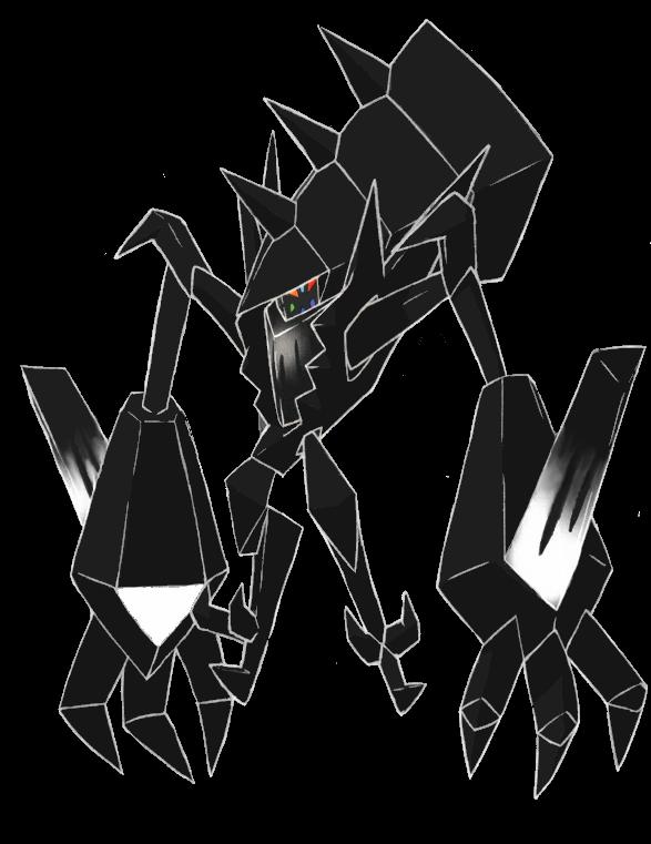 Necrozma anime artwork (refurbished)