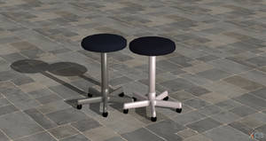 Examination stool (XPS/XNALara)