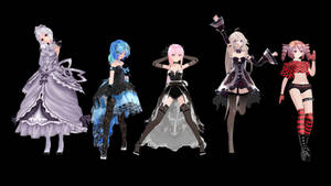 MikuMikuDance (MMD): Random Pose Pack Download by K-Manoc1