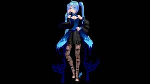 MMD Model Download: TDA Butterfly Dress Miku