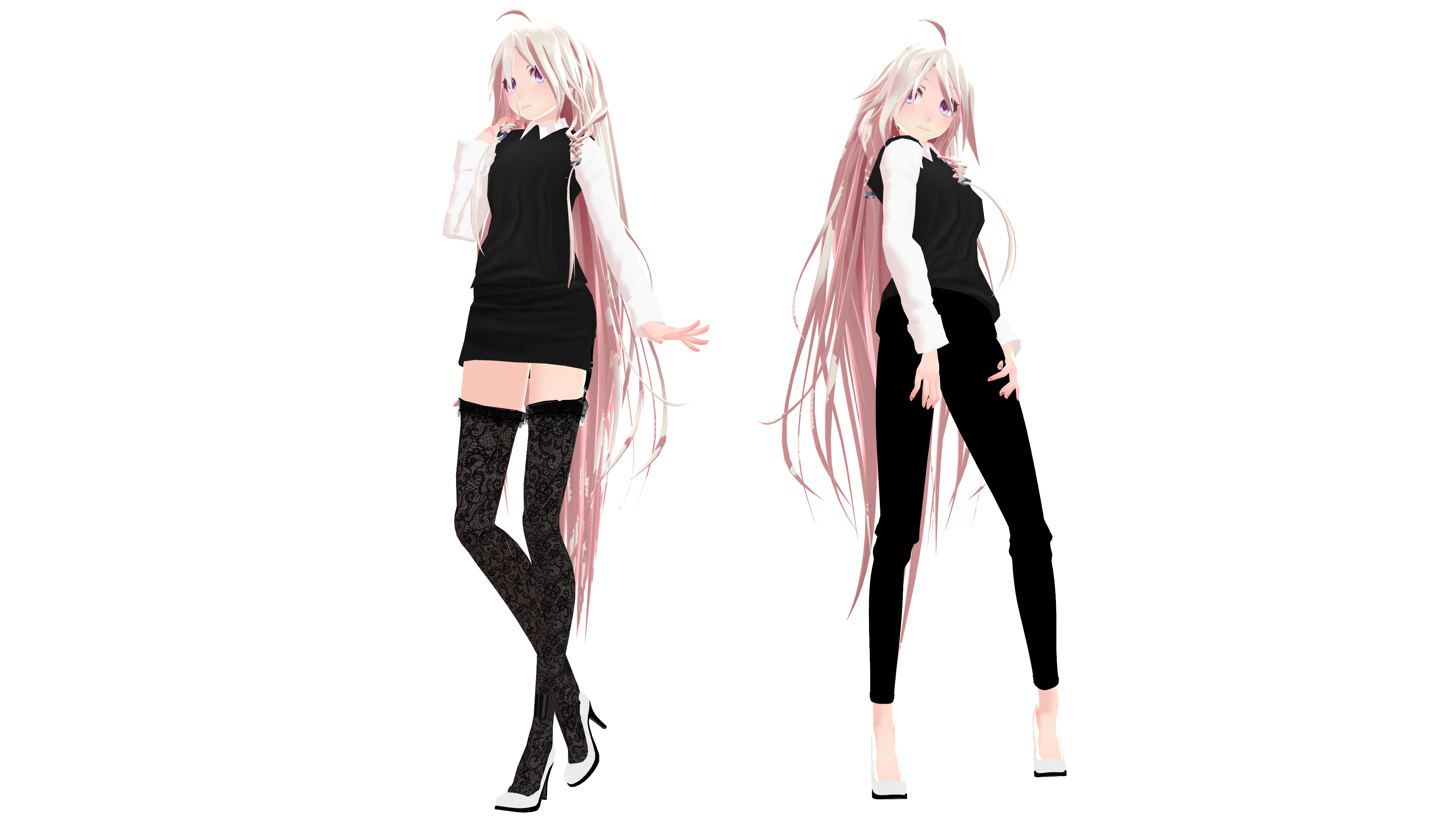 MMD Model Download: TDA Office IA by K-Manoc1