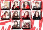 Twice Like Ooh Ahh Icons