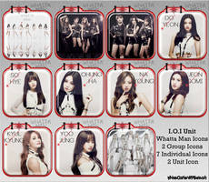I.O.I Whatta Man Windows Folder Icons