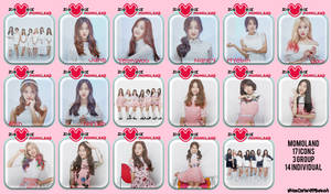 Momoland Welcome To Momoland Icons