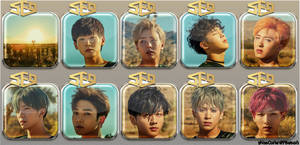 SF9 Knights of the Sun Icons