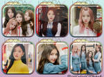LOONA 1/3 Love and Live Icons