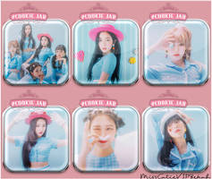 Red Velvet #Cookie Jar Icons