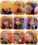Gugudan New Action Icons