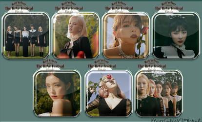 Red Velvet Psycho Icons Day Ver