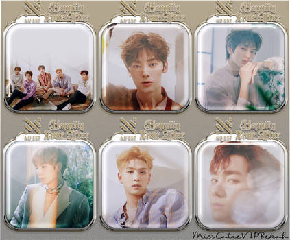 NU'EST Happily Ever After Icons