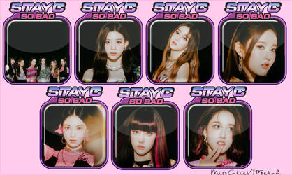 STAYC So Bad Icons