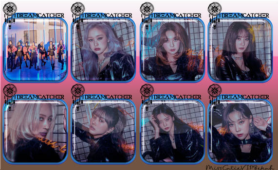 Dreamcatcher Odd Eye Icons Ver 1