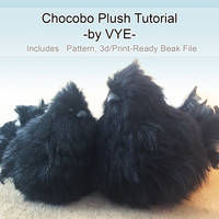 Chocobo Plush Resource/Tutorial (Final Fantasy)