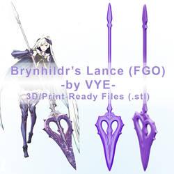 Brynhildr Lance by Ettelle