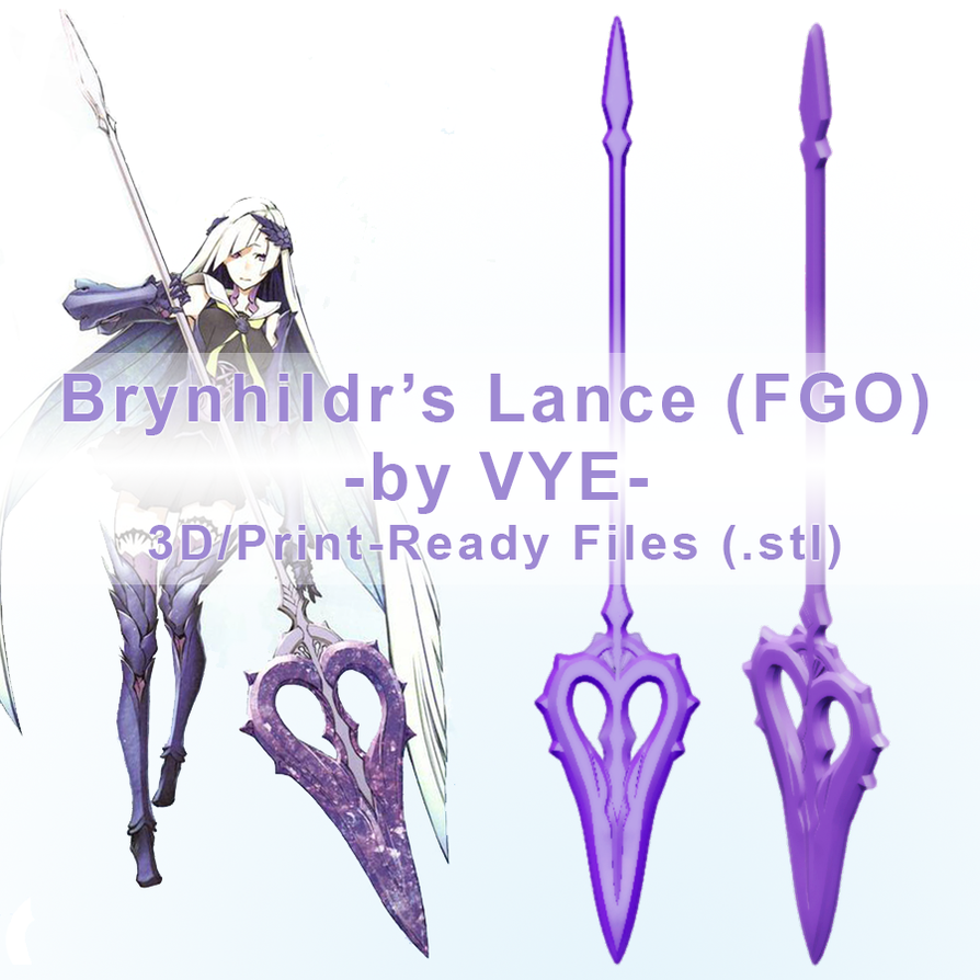 Brynhildr Lance by Ettelle