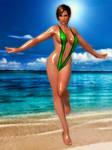 DOA5LR Lisa Hot Getaway